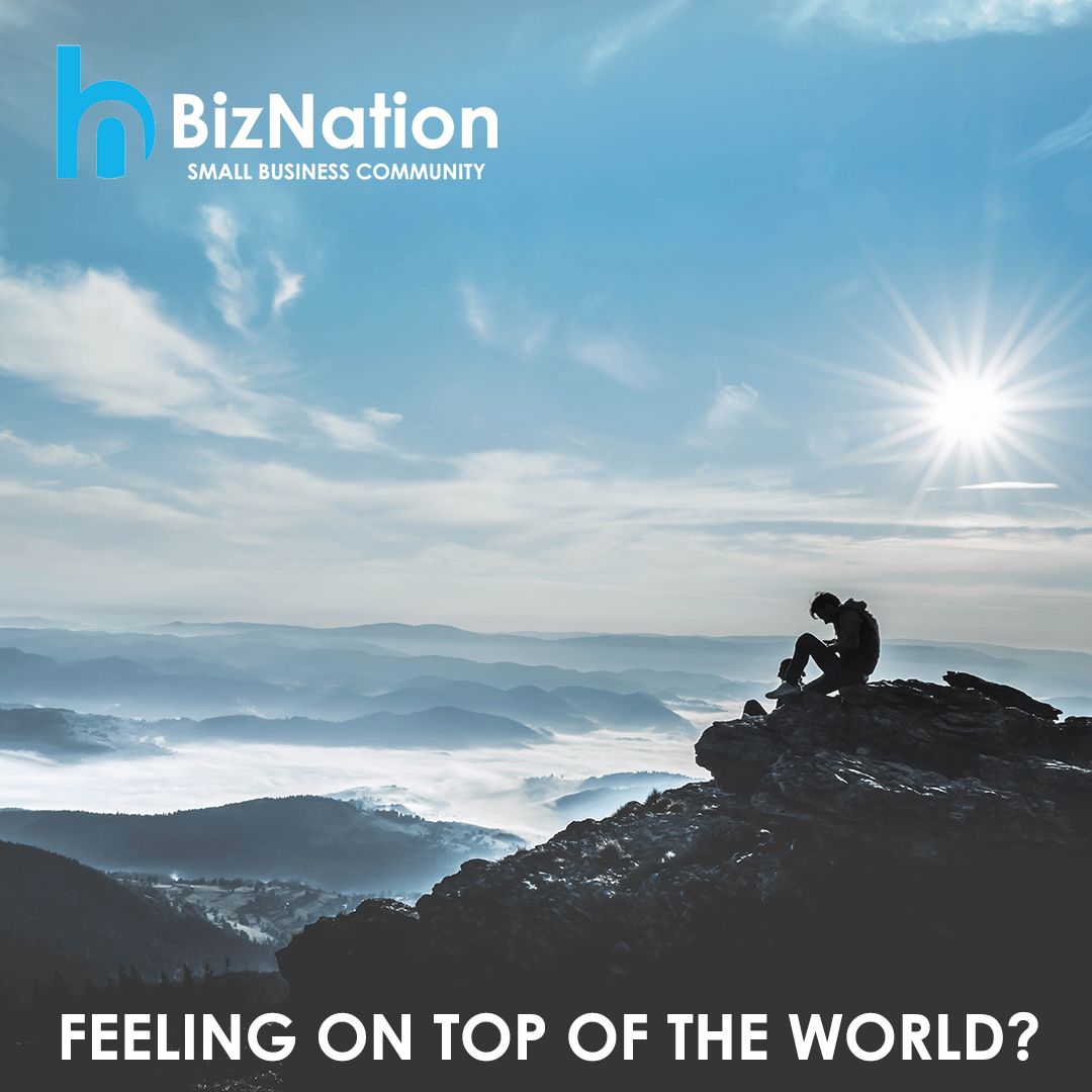 BizNation small business community on top of the world